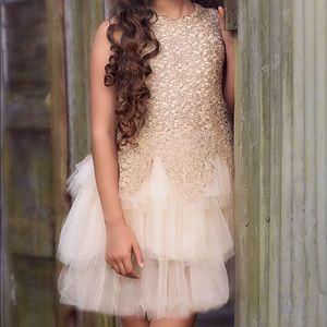 Trish ScullyY10 Antique Gold Lady Marabella Dress